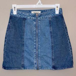 Cute Pacsun Jean Skirt